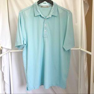 Travis Mathew Golf Polo Shirt Sz L